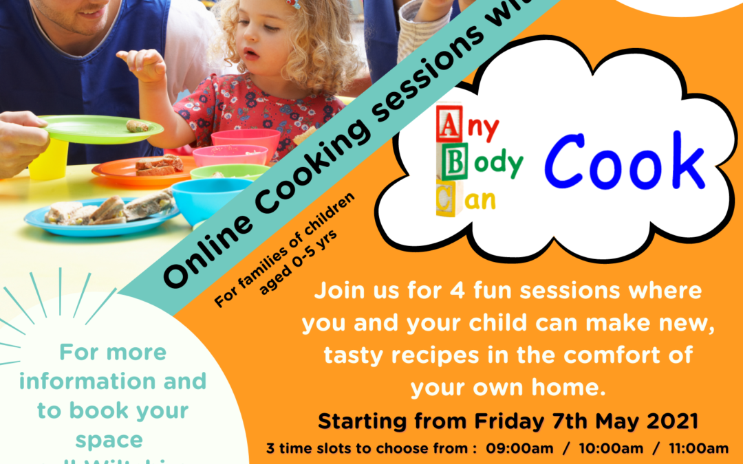 New online cookery sessions