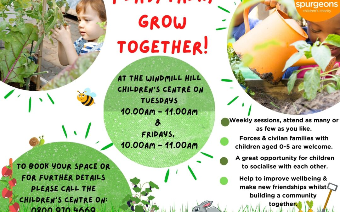 Play, learn and grow together – Tidworth